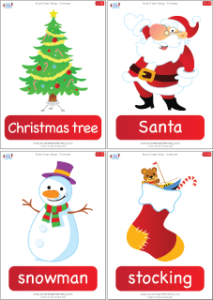 Super Simple Songs Christmas Complete Flashcards