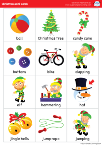 Super Simple Songs Christmas Mini Cards Super Simple