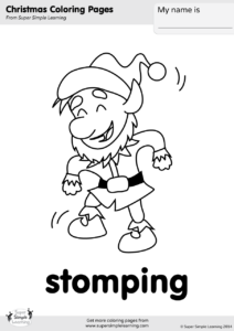coloring pages 3213038751 | Stomping Coloring Page | Super Simple