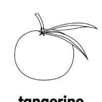 tangerine coloring pages | Five Little Monkeys Coloring Pages - Super Simple