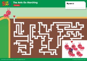 The Ants Go Marching - Super Simple Songs