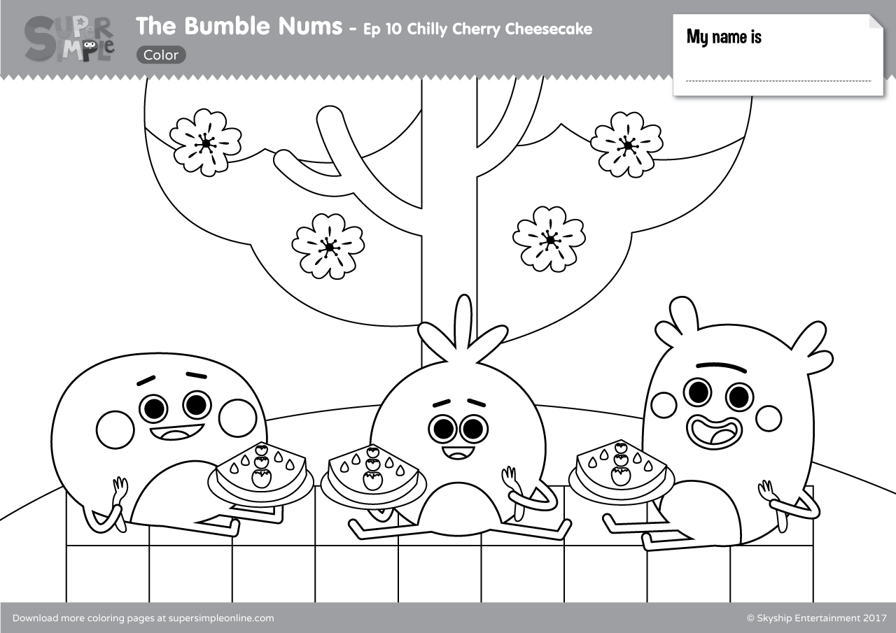 The Bumble Nums Episode 10 Chilly Cherry Cheesecake