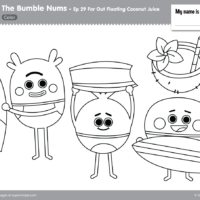The Bumble Nums Color – Episode 29 – Far Out Floating Coconut Juice