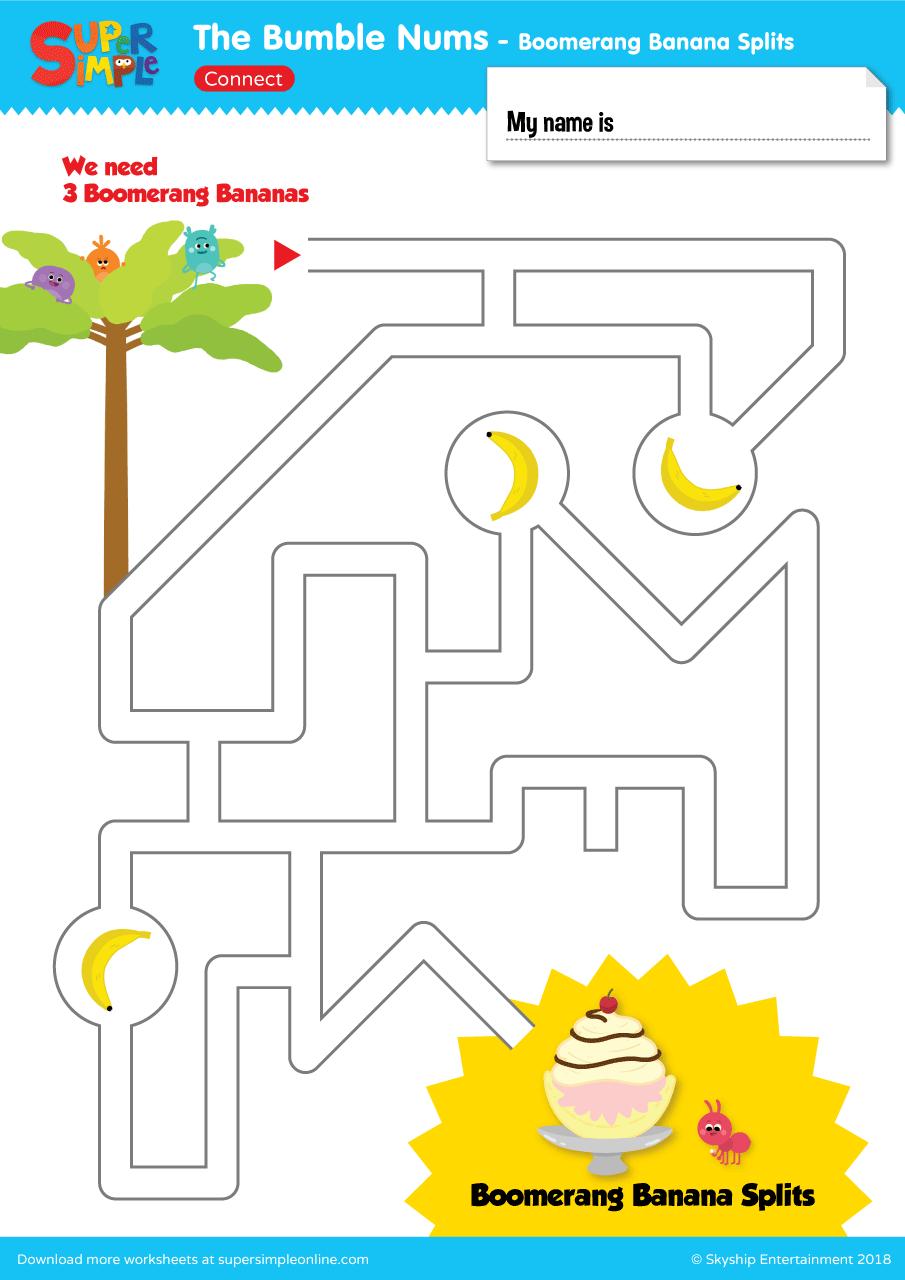 The Bumble Nums – Ep 13 – Maze | Super Simple