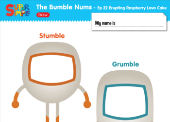 The Bumble Nums Ep22 Draw Worksheet