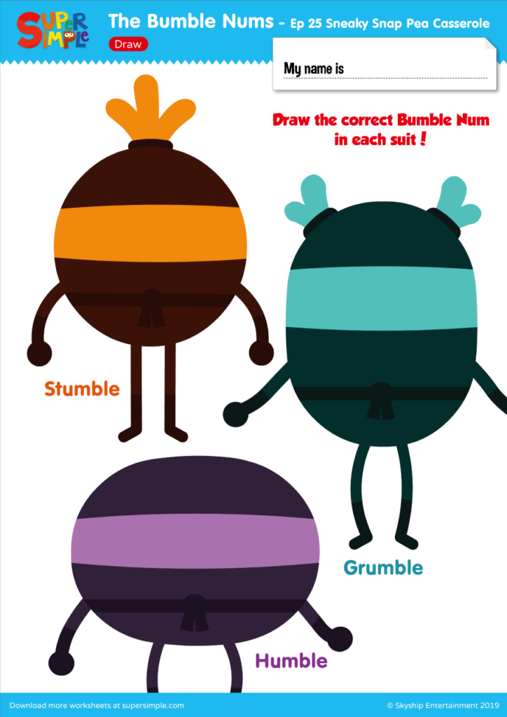 The Bumble Nums - Ep 25 - Draw
