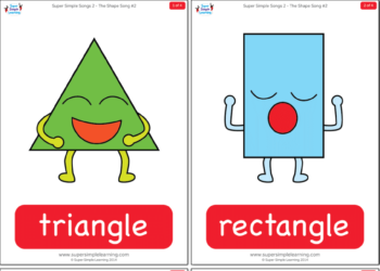 photo relating to Free Printable Shape Flashcards known as Designs - Tremendous Straightforward