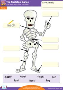 The Skeleton Dance Worksheet Write Super Simple