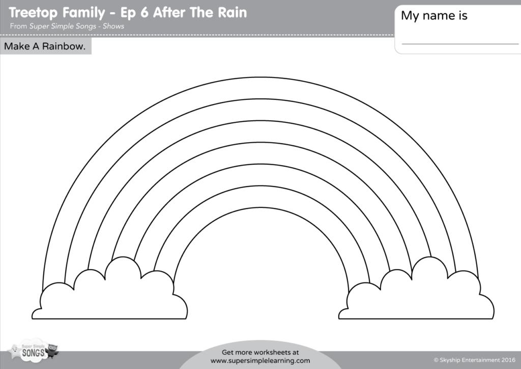 treetop family make a rainbow super simple. Black Bedroom Furniture Sets. Home Design Ideas