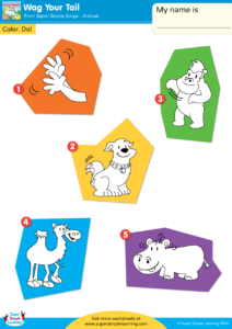 Wag Your Tail Worksheet Vocabulary